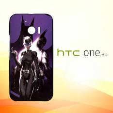 Casing Untuk HTC M10 Batman And Catwoman Couple Hero L1382