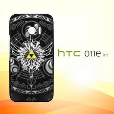 Casing Untuk HTC M10 Cover Legend Zelda Triforce Wing Sword Gate of Time A1812