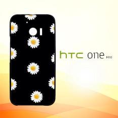 Casing Untuk HTC M10 Daisy Flower Pattern W4273