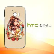 Casing Untuk HTC M10 Disney Princess Tattoos E0746