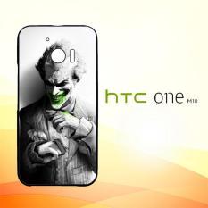 Casing Untuk HTC M10 joker smile suit flower Z4495
