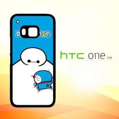 Casing Untuk HTC M9 Big Hero 6 Baymax Doraemon W4462