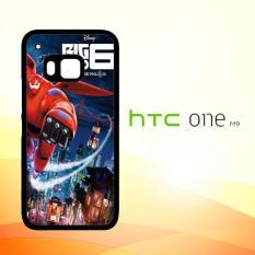 Casing Untuk HTC M9 big hero 6 Z0628