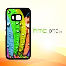 Casing Untuk HTC M9 color flower X0132