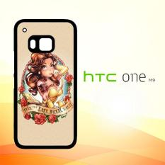 Casing Untuk HTC M9 Disney Princess Tattoos E0746