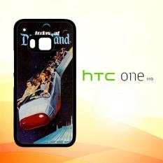 Casing Untuk HTC M9 Disneyland flyer V0374