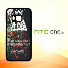 Casing Untuk HTC M9 FOB Flower Quotes