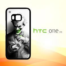 Casing Untuk HTC M9 joker smile suit flower Z4495