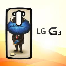 Casing Untuk LG G3 cookie monster art Y1311
