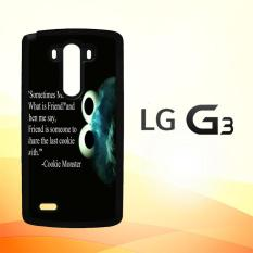 Casing Untuk LG G3 Cookie Monster V0409