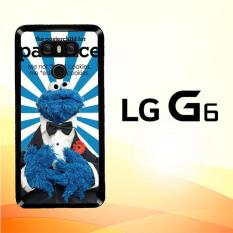 Casing Untuk LG G6 Cookie Monster blue Y2672