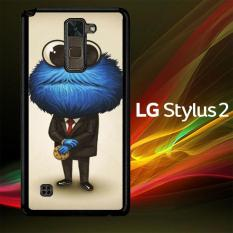 Casing Untuk LG Stylus 2 cookie monster art Y1311
