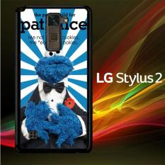 Casing Untuk LG Stylus 2 Cookie Monster blue Y2672