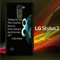 Casing Untuk LG Stylus 2 Cookie Monster V0409
