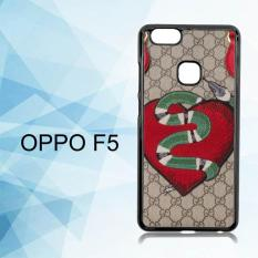 Casing Untuk Oppo F5 Limited Edition GG Snake E1682