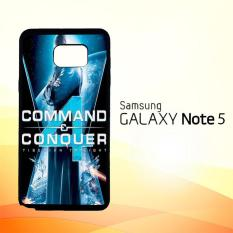 Casing Untuk Samsung Galaxy Note 5 Command And Conquer 4 Tiberian Twilight Z1028