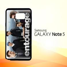 Casing Untuk Samsung Galaxy Note 5 Entourage Tv Movie Series Y0054