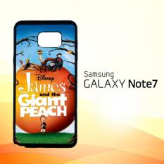 Casing Untuk Samsung Galaxy Note 7 Anime Cartoon James and the Giant Peach Z4117