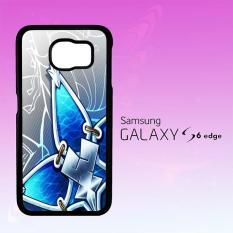 Casing Untuk Samsung Galaxy S6 Edge Kingdom Hearts Aqua Wayfinder X1247