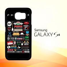 Casing Untuk Samsung Galaxy S6 Friends TV Show Poster E0397