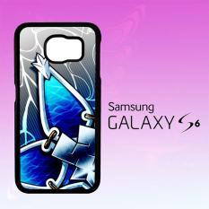 Casing Untuk Samsung Galaxy S6 Kingdom Hearts Aqua Wayfinder Z0357