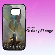 Casing Untuk Samsung Galaxy S7 Edge Fan Made Pokemon GO X4645