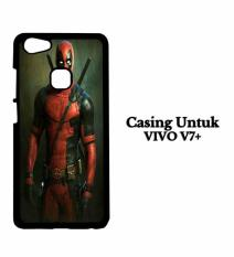 Casing VIVO V7 PLUS deadpool iphone wallpaper Custom Hard Case Cover