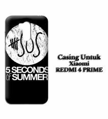 Casing XIAOMI REDMI 4 PRIME 5 Second Of Summer Log Custom Hard Case Cover