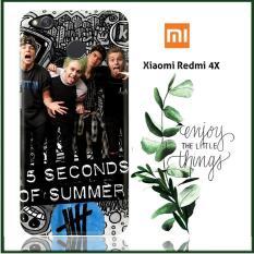 Casing Xiaomi Redmi 4X Custom Case 5 seconds of summer L0409