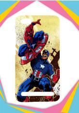 Casing Xiaomi Redmi 5A Custom Hardcase captain america vs spiderman Z0492 Case Cover