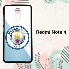 Jual Casing Xiaomi Redmi Note 4 Custom Hardcase Hp New Mancaster City O0449 Satu Set