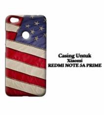 Casing XIAOMI REDMI NOTE 5A PRIME American Flag HD Custom Hard Case Cover