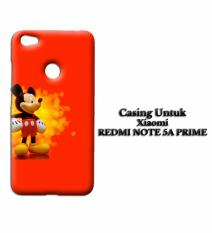 Casing XIAOMI REDMI NOTE 5A PRIME Mickey Mouse hd Custom Hard Case Cover