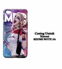 Casing XIAOMI REDMI NOTE 5A suicide squad harley HD Custom Hard Case Cover