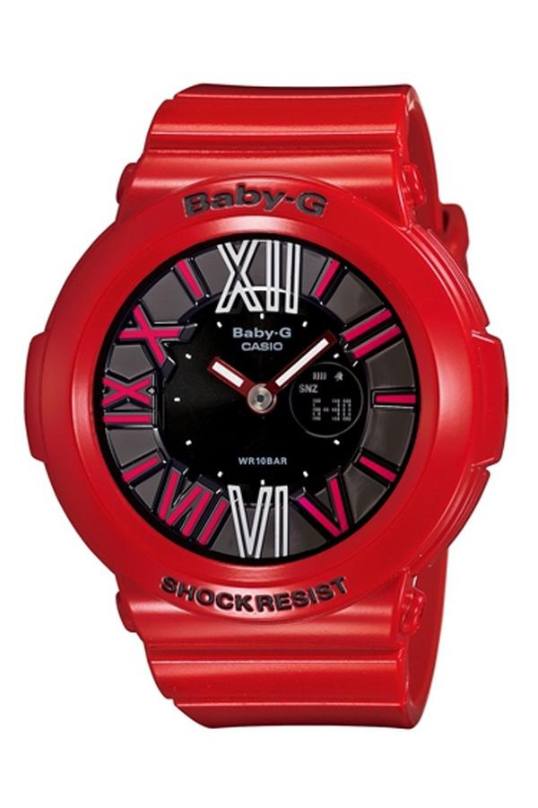 Harga Casio Baby G Wanita Merah Damar Tali Jam Bga 160 4B Terbaru