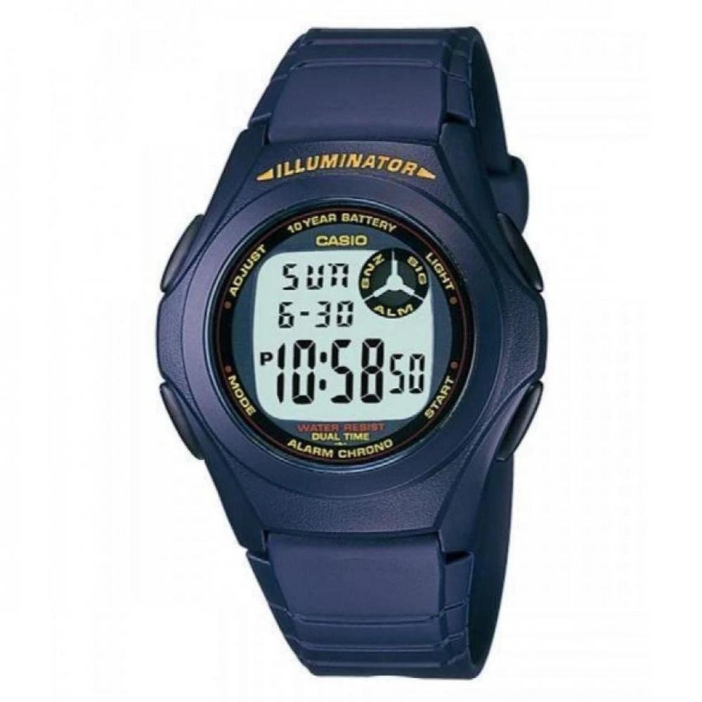 Harga Casio Digital Watch F 200W 2Adf Unisex Watch Karet Biru Branded