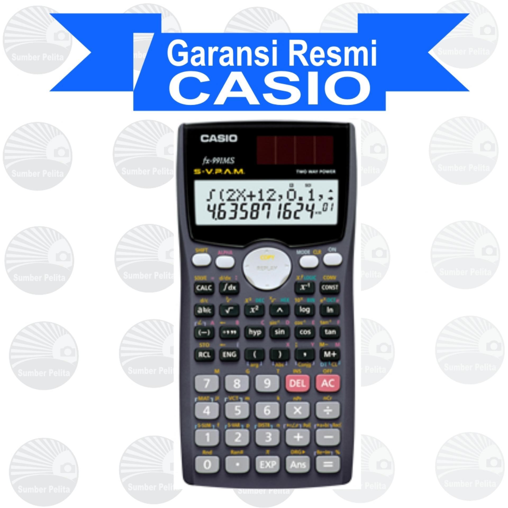 Diskon Casio Fx 991 Ms Fx 991 Casio Di Di Yogyakarta