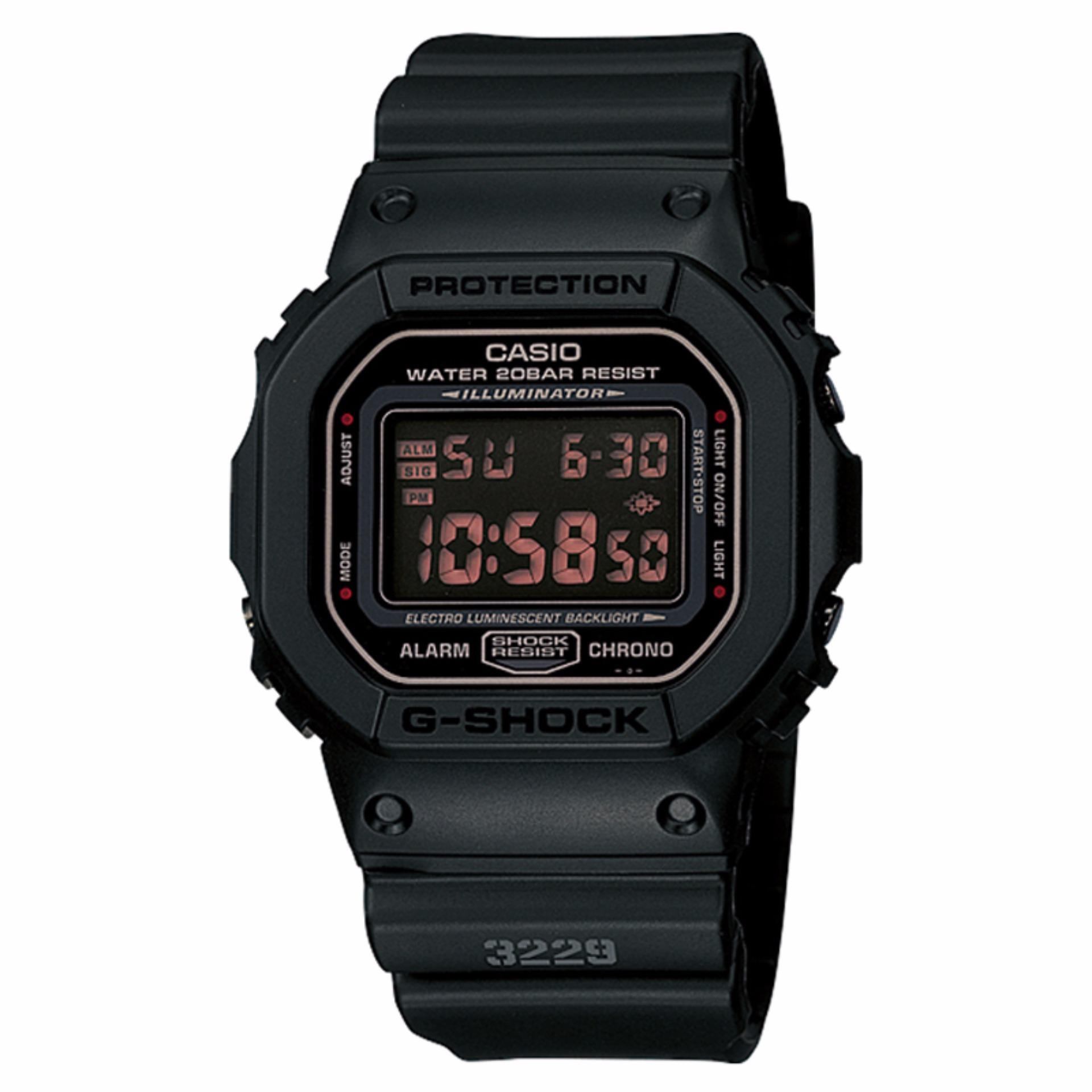 Spek Casio G Shock Dw 5600Ms 1Dr Jam Tangan Pria Black Strap Resin Indonesia