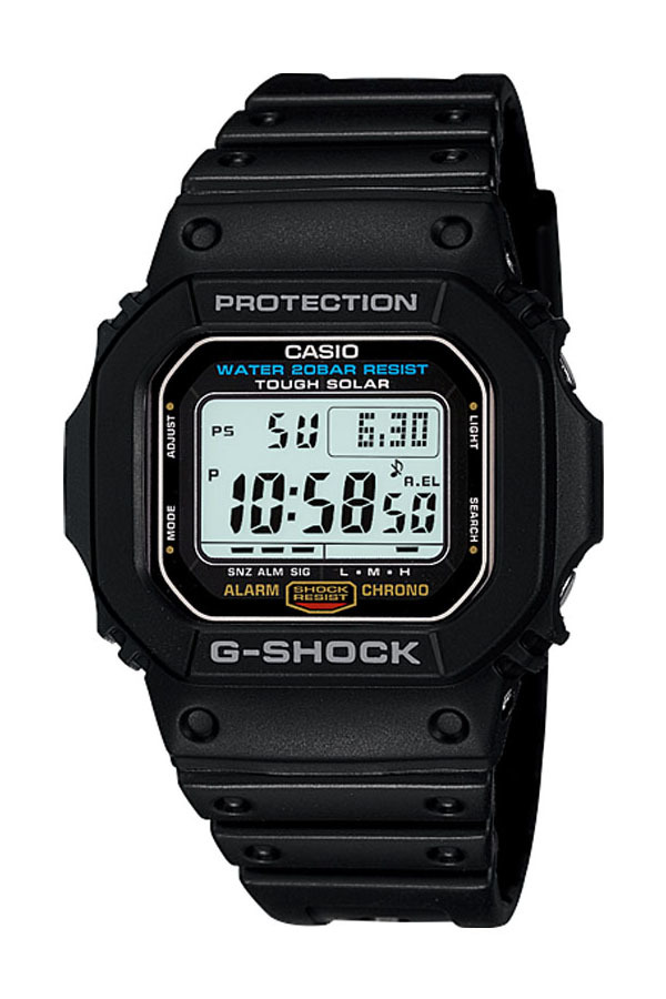 Harga Casio G Shock G 5600E 1 Jam Tangan Pria Black Resin Band Casio G Shock