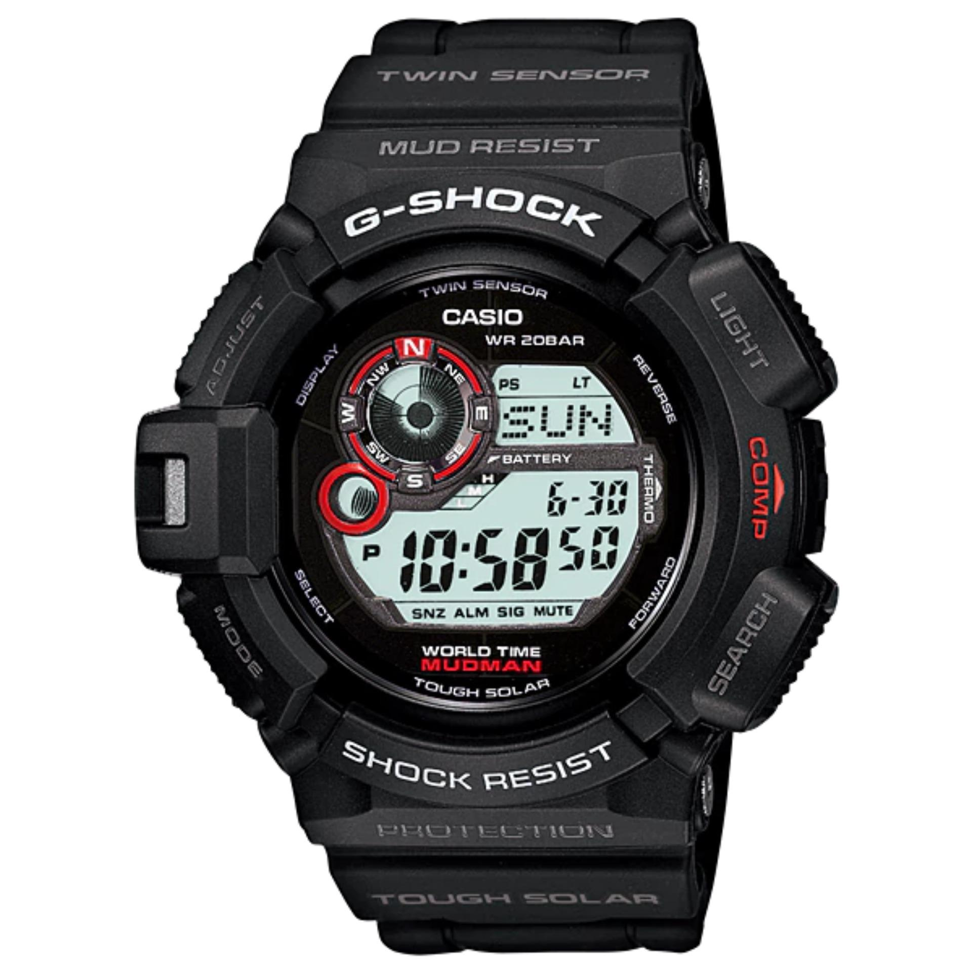Review Casio G Shock G 9300 1Dr Jam Tangan Pria Digital Black Casio G Shock