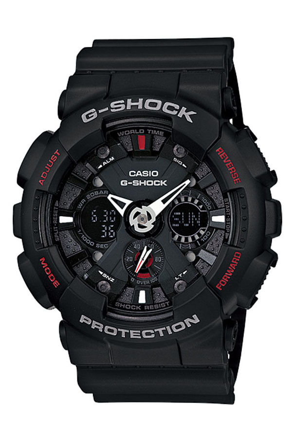 Spesifikasi Casio G Shock Ga 120 1A Jam Tangan Pria Hitam Resin Band Dan Harga