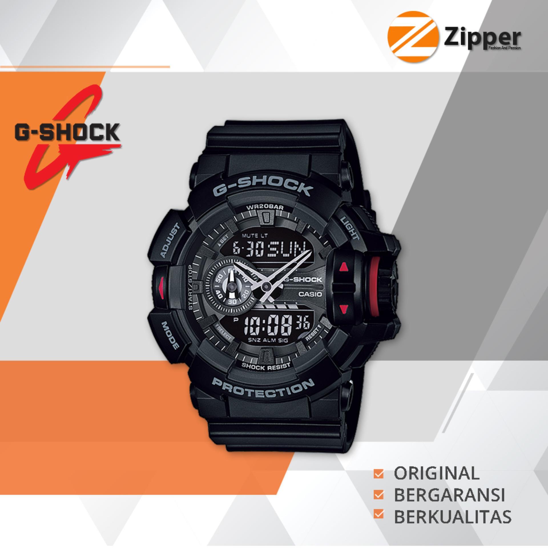 Casio G Shock Jam Tangan Prial Dual Time Analog Digital Ga 400 Series Tali Karet Jawa Timur Diskon