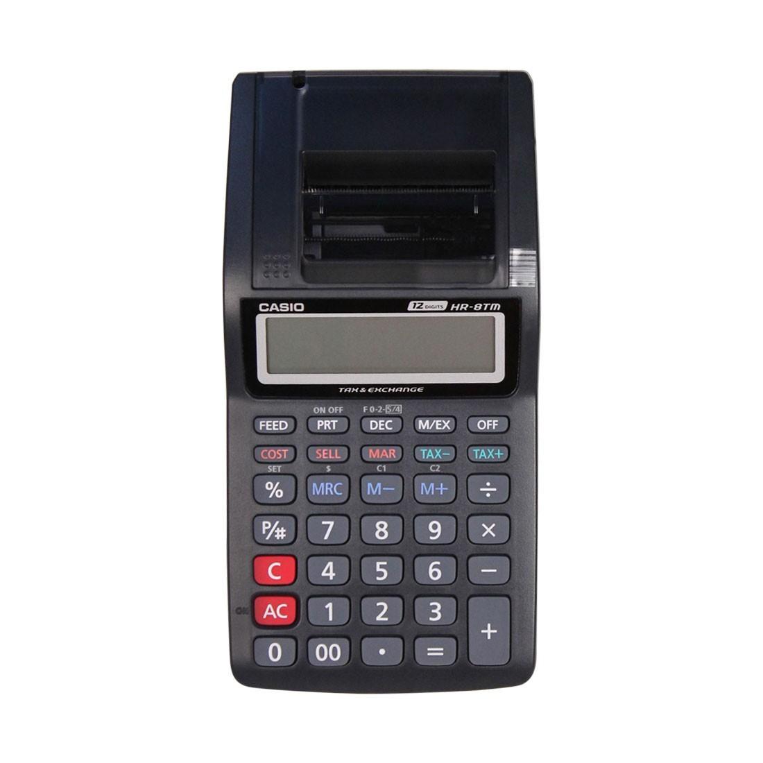 Spesifikasi Casio Kalkulator Printer Hr 8Tm Hitam Dan Harga