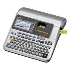 Harga Casio Kl 7400 Label Printer Silver Fullset Murah