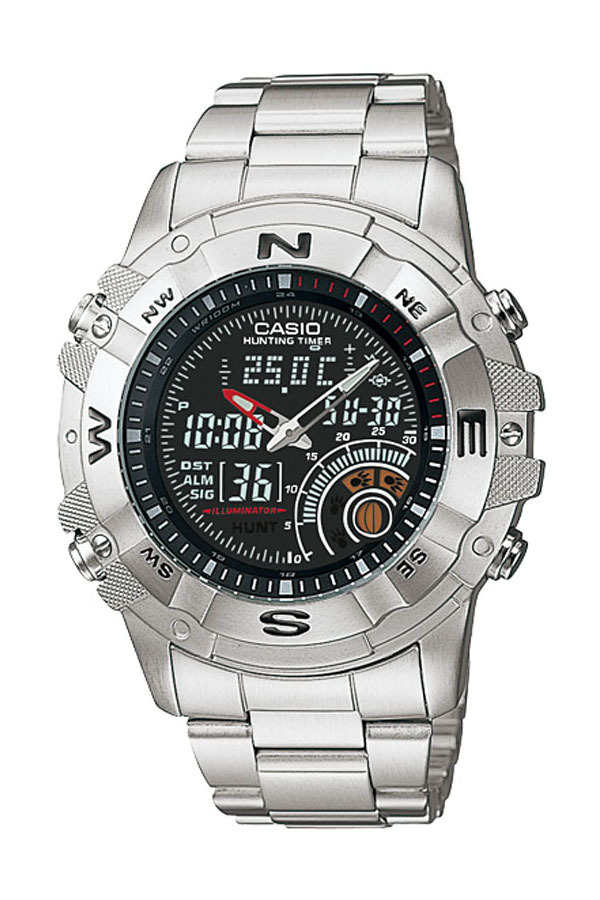 Situs Review Casio Outgear Amw 705D 1Av Jam Tangan Pria Silver Stainless Steel Band