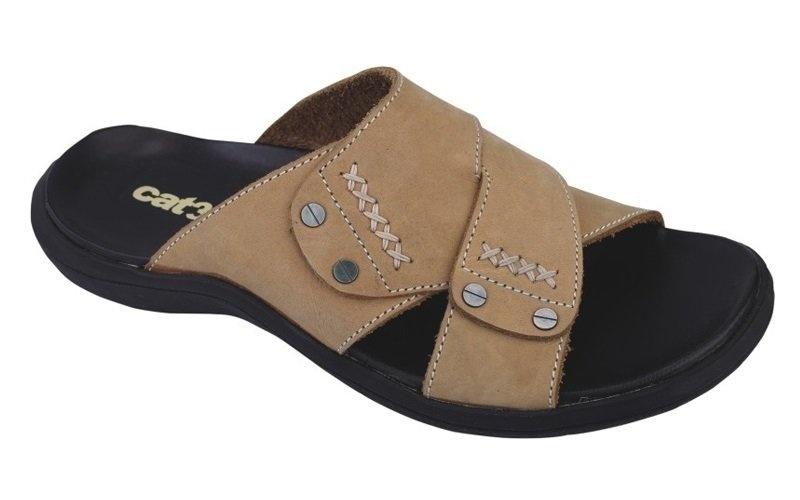 Catenzo Flip-Flop/Sandal Pria - Kulit Asli - Tpr Outsole 148 Kn 303