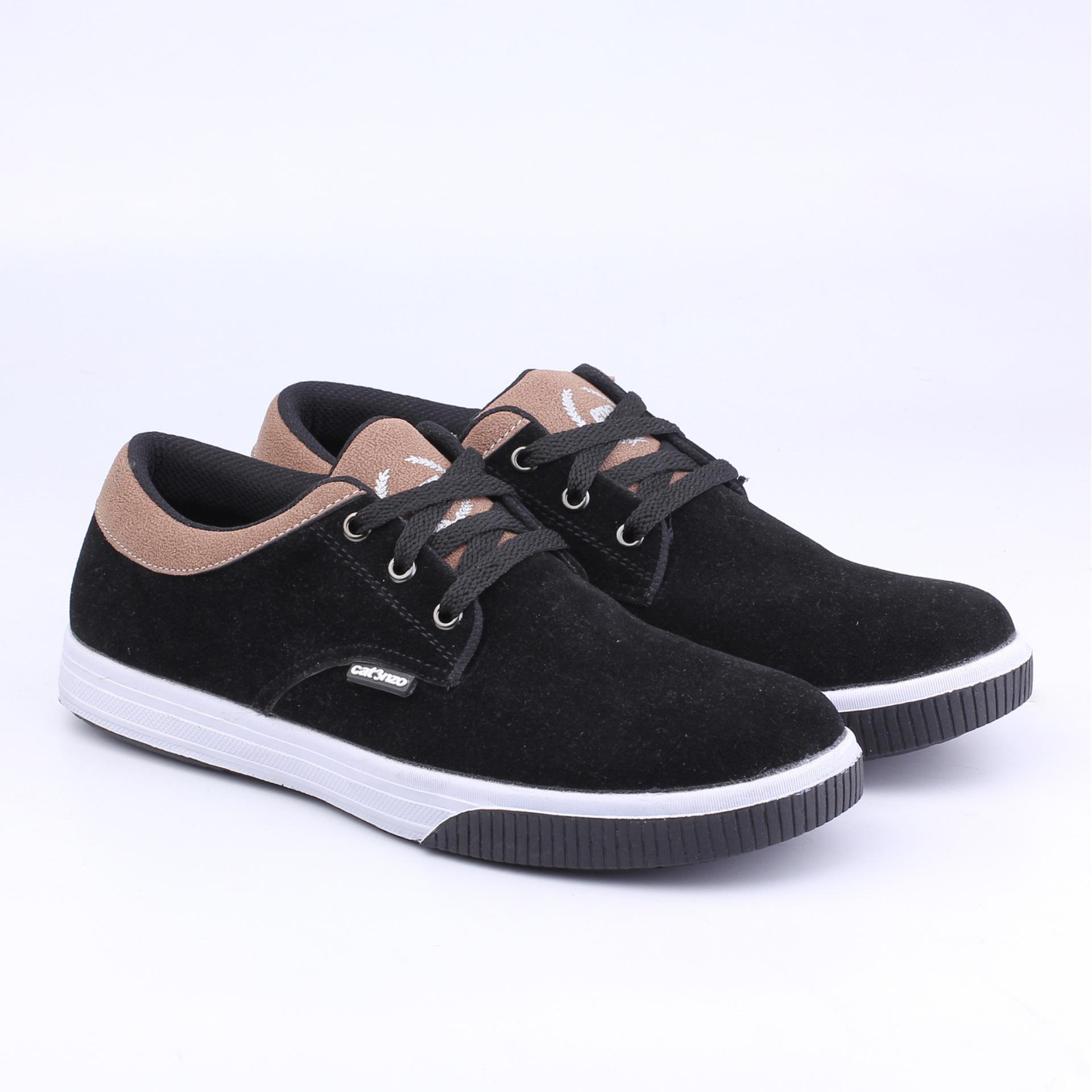 Sepatu Sneakers Pria Casual Kets Navy OriginalIDR157000. Rp 157.200 aba376343a