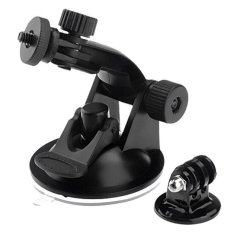 Cuci Gudang Ccc Suction Cup With Tripod Mount For Gopro Xiaomi Yi Bpro Actioncam Hitam