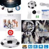 Review Cctv 360 Panoramic Ip Cam Kamera Wifi Panorama V380 Everio Camera 360 Wifi