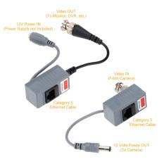 Jual Kamera Cctv Video Balun Seluler Bnc Utp Rj45 Video And Kekuasaan Atas Cat5 5E 6 Kabel Not Specified Ori